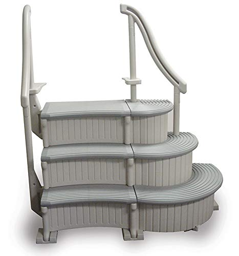 Confer In Ground Swimming Pool Curve Step System