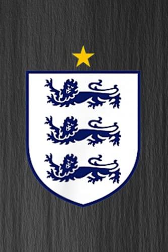 Family Refrigerator Inventory List - England Three Heraldic Lions Crest Soccer Football