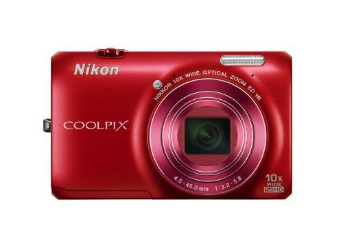 Nikon COOLPIX S6300 16 MP Digital Camera with 10x...