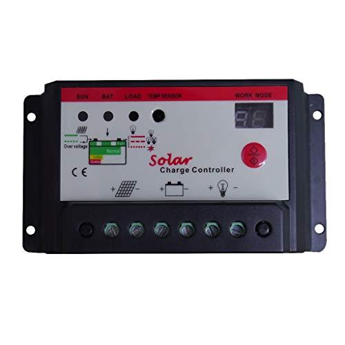 HYY-YY Solar Charge Controller With Regulator 6V / 12V Or 12V / 24V - PICK - 10A
