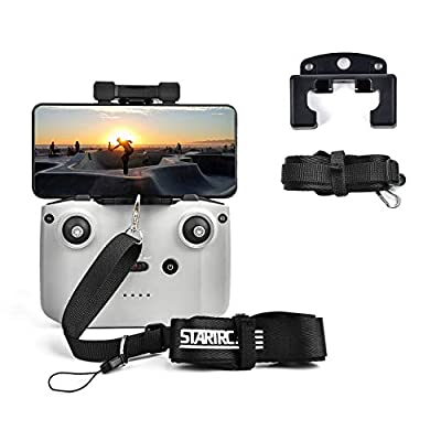 STARTRC Remote Control Adjustable Lanyard Hanging Strap Bracket Buckle for DJI Mavic Air 2/ Mini 2 Accessories