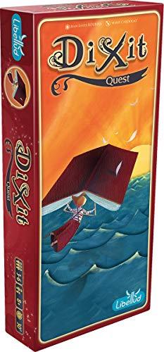 Asmodee Dixit 2 - Quest, Erweiterung, Kartenspiel, Familienspiel, Deutsch