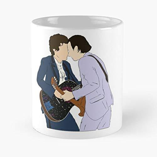 VinTageE Styles Treat Tour Kindness Finline Harry Line Suits People Guitar Music Album Fine with Best 11 oz Kaffeebecher - Nespresso Tassen Kaffee Motive