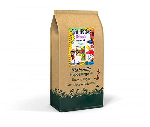 Wulliefu Wulliedog Naturals - vis en rijst, 2000 gram