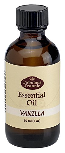 Vanilla Essential Oil - 60ml (2oz) Great Scent for The spa and Home by Fabulous Frannie
