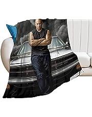GCav Vin Diesel Ultramjuk Micro Fleece Filtar för Hem Soffa Säng Soffa Mysig Varm Lätt Dekorationer 3D-tryckt filt 127 cm x 102