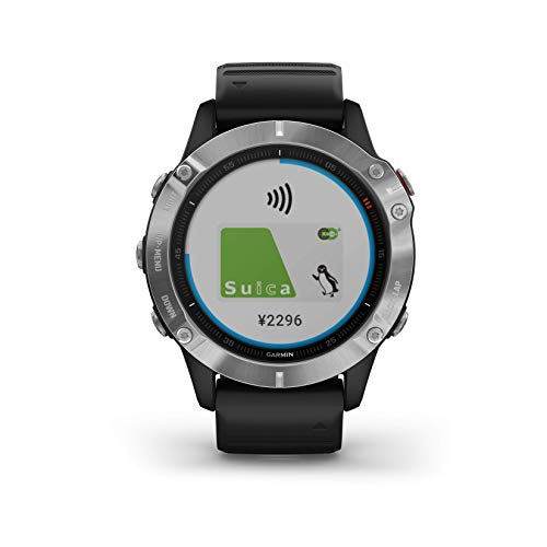 GARMIN(ガーミン) fenix 6 Black 音楽再生機能 マルチスポーツ型GPSウォッチ 最大13日間稼働 【日本正規品】
