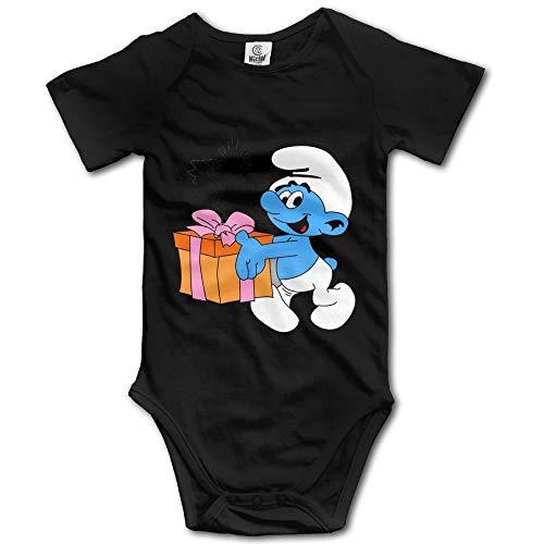 FGRFQ Combinaison Bébé Popular Cartoon Smurf Gift Baby Onesie Baby Clothes