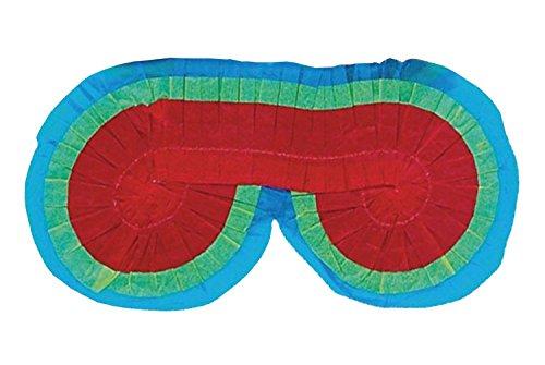 amscan P49920 Spiel Zubehör-Pinata Augenbinde, Multi