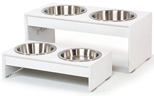 PetFusion Elevated Dog Bowls, Cat Bowls (4