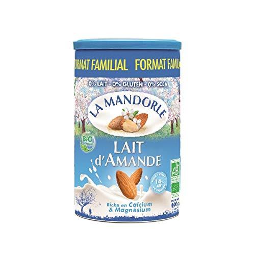 La Mandorle - Lot De 3 Laits D'Amandes En Poudre 800G - Prix De L'Unité - Livraison Rapide En France Métropolitaine