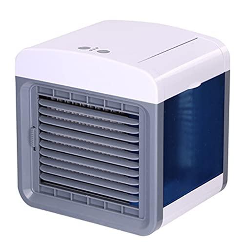 GDYJP Mini Aire Acondicionado portátil USB El humidificador Conveniente del Ventilador purifica el enfriamiento de Aire de Aire Personal en enfriamiento para la Oficina en casa