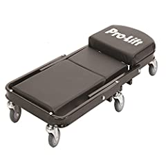 """Transforms with no tools in seconds 40"""" Steel frame construction, Seat Size: 14"""" x 12-1/4"""" Padded seat and headers 450 pounds rated capacity Six 3"""" polyurethane, oil resistant, full bearing casters for easy movement"""
