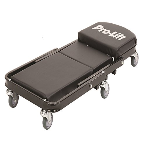 Pro-LifT C-9100 Black 450 Pounds 40' Foldable Z Creeper-450 LBs