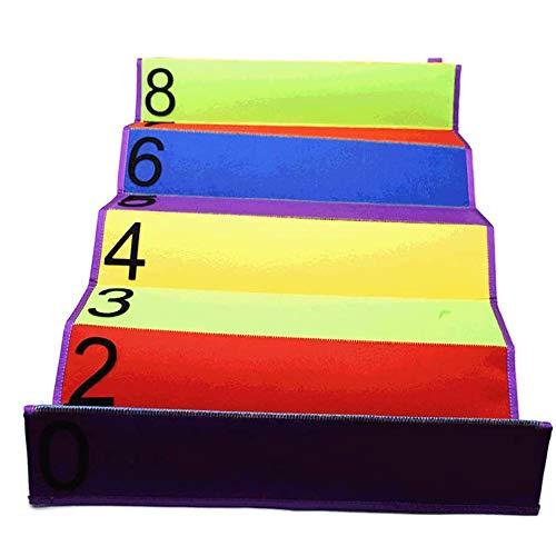 Juego de colchoneta de entrenamiento de salto,altos estándares de salto,medición de altura táctil fija multifunción para niños,dormitorio,para niños,adolescentes,entrenamientos en casa,deportes