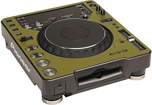 Zomo Twin CDJ olivo 1 Piece Faceplate