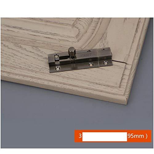 Volledig koperen vergrendeling, dubbele opening deur gemonteerd puur koper deur bout, deur vergrendeling, houten deur en raam, deur invoer, kinderdeur pin slot A