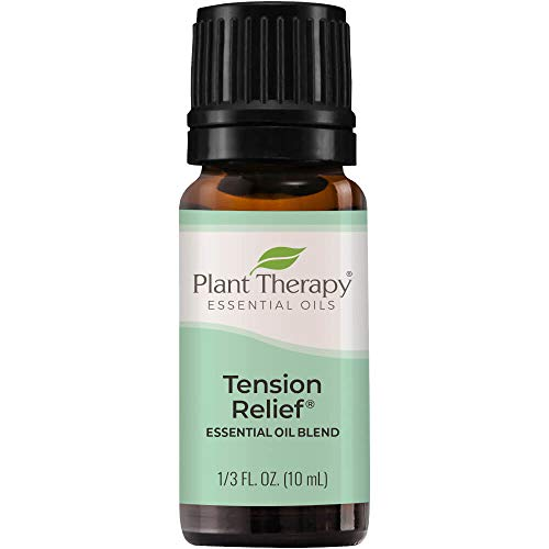 Plant Therapy Tension Relief Essential Oil Blend 10 mL (1/3 oz) 100% Pure,...