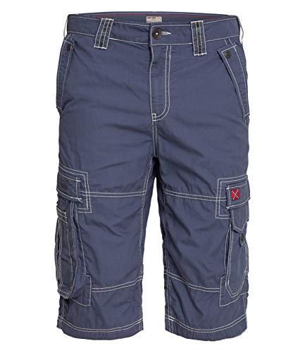 Camp David Herren Cargo Shorts mit Kontrastnähten