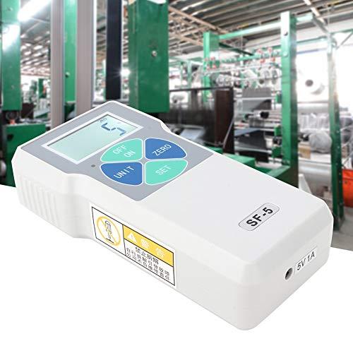 Digitales Kraftmessgerät, SF-5 Tragbares Druck- und Zugmessgerät Hochpräzise LCD-Messgeräte Digitales Kraftmessgerät, 5N 100-240V(UNS)