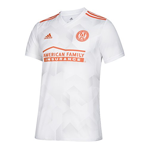 adidas MLS Atlanta United 7417AATUAZNAUF Men's Replica Jersey, Small, White