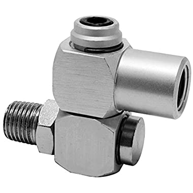 Hot Max 28083 360-degree Swivel 1/4-Inch Male NPT x 1/4-Inch Female NPT