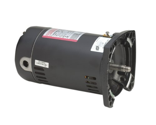 Century USQ1102 1 HP, 3450 RPM, 1.25 Service Factor, 48Y Frame, Capacitor Start/Capacitor Run, ODP Enclosure, Square Flange Pool Motor