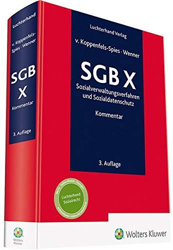 SGB X Kommentar: Sozialverwaltungsverfahren und Sozialdatenschutz