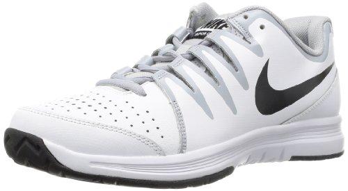 Nike Mens Vapor Court White/Wolf Grey/Black 7 D - Medium