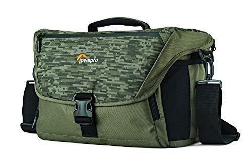 Lowepro Nova 200 AW II Schultertasche, Schwarz, Camouflage, Grün