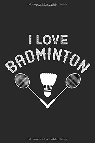 Badminton Notizbuch: 100 Seiten | Linierter Inhalt | Federball Schläger Hobby Aufschlag Trainer Turnier Team Mannschaft Shuttlecock Geschenk