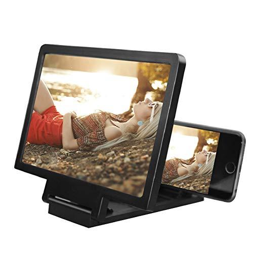 Toho 12 Inch 3D Telefoon Scherm Vergroting, Vergroot HD Mobiele Telefoon Scherm Versterker, Anti-Straling Smart Telefoon Scherm Vergroting