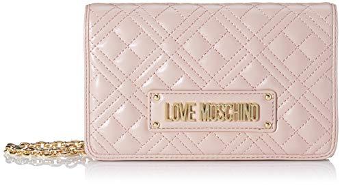Love Moschino Damen Jc4010pp1a Handgelenkstasche, Pink (Rosa), 4x13x22 Centimeters