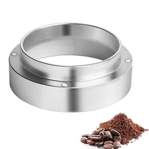 Pichidr-JP コーヒーパウダーリング - 51mm エスプレッソコーヒー投与リング アルミ製 飛散防止 コーヒーマシンアクセサリー ユニバーサル プロファイル用 醸造ボウル 交換用 インテリジェント ドージング リング コーヒーパウダー