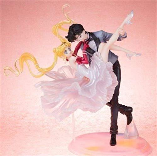 Exquisite Figuarts Zero chouette Sailor Moon Usagi Tuxedo Mask Dance PVC Action Figure Collectible Model Toy