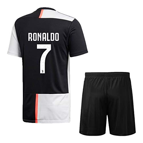 Juventus Jersey Ronaldo for Kids (15-16 Years, White)
