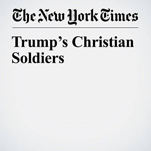 Trump's Christian Soldiers copertina