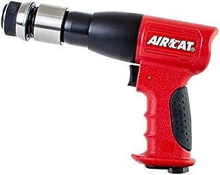 AIRCAT 5100-A-T Stroke Low Vibration Composite Air Hammer, Medium, Red & Black