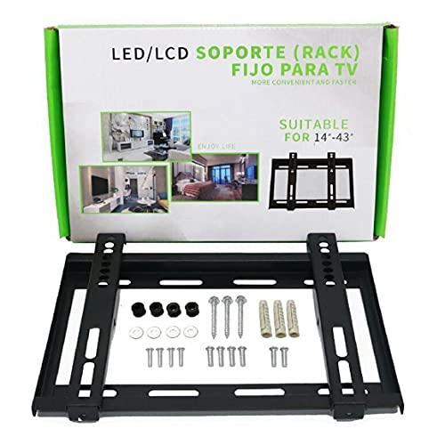 Pumprout Universal 14-43 Pulgadas LCD TV Rack 14-43 Pulgadas Montado en la Pared LCD TV Rack Display Stand Soporte de TV Moda Decoración del hogar