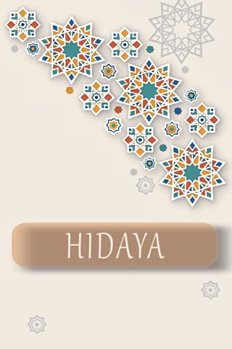 HIDAYA: Personalized Name Journal for HIDAYA, Cute Lined Notebook with Pink flower, Black Cover, notebook Blank Lined Writing Pages Journal with Personalized Name 6x9, 110 pages