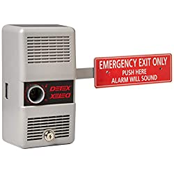 Detex ECL-230D Emergency Door Exit Alarm, Silver
