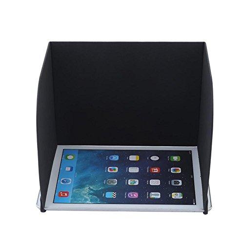 Favrison 10,5 Zoll L220 Schwarzer FPV-Telefon Monitor Sonnenschutz Cover Tablets Pad Hood für DJI Phantom 4/3, Mavic pro, Inspire, OSMO, M600 Monitor Remote Controller