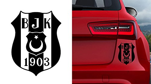Auto Car Sticker Aufkleber Carsi BJK Besiktas Istanbul Autosticker