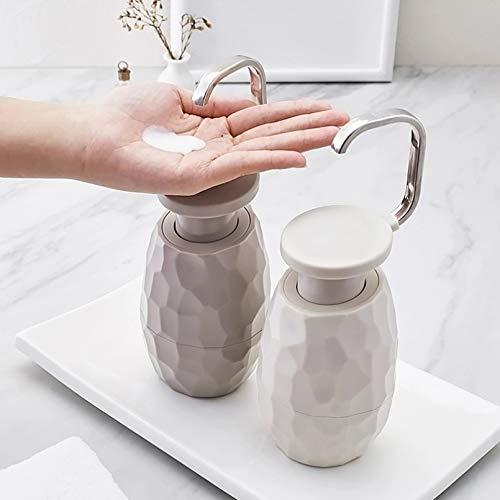WSLWJH Seifenspender Einhand-Seifenspender Gesichtsreiniger Duschgelflasche Umweltfreundlich Für Zu Hause Hotel Badezimmer 400 Ml