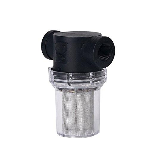 Pumpensieb, Filter, 20 mm/25 mm, Inline-Netzsieb, Wasserpumpenfilter, hoher Durchfluss, Gartenbewässerung, Außensieb (20 mm)