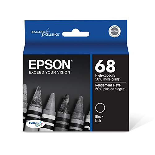 Epson T068120-S Ink Cartridge High Capacity (Black) in Foil Packaging
