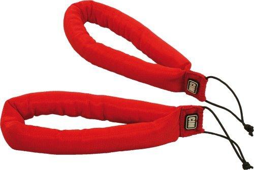 CIM Drachen-Lenkschlaufen, gepolstert - rot