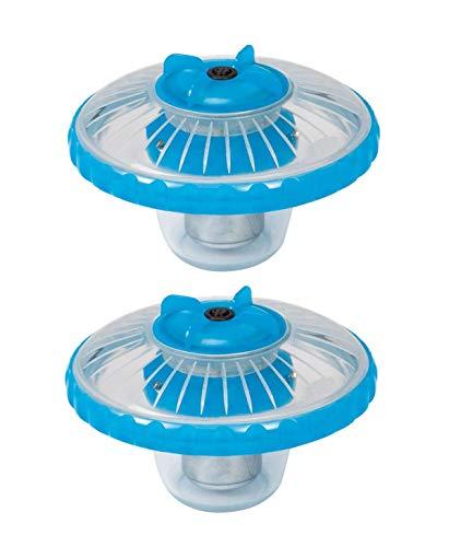 Intex superficie de 3colores LED flotante Piscina Luz | 28690e (2-Pack)