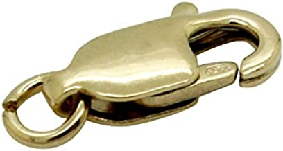 Sunshine Lobster 14K Solid Gold Trigger Jewelry Lobster Clasp (10 x 4mm)