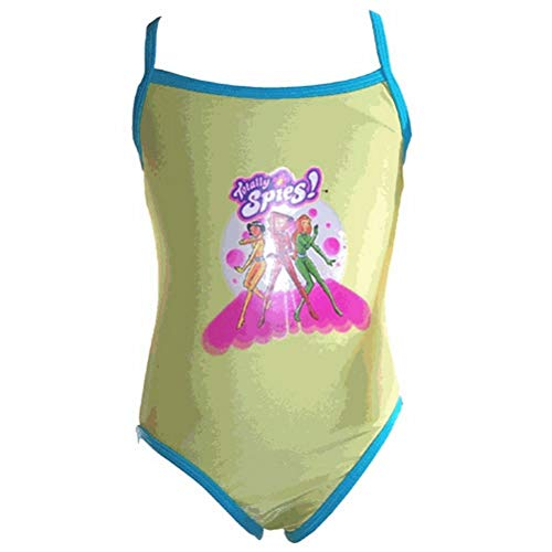 Maillot 1 pice Totally Spies - 4 ans - Vert